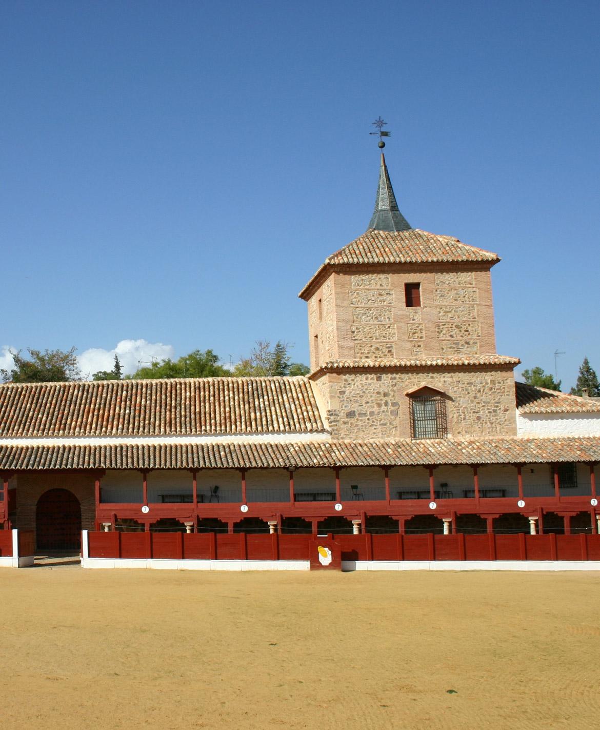 Plaza de toros cuadrada S. XVII